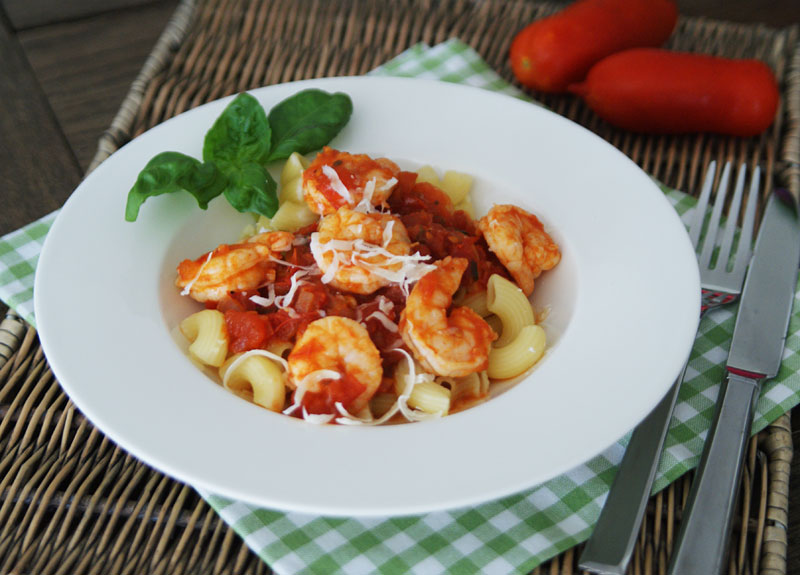 Shrimp Marinara (Slowcooker-Rezept)