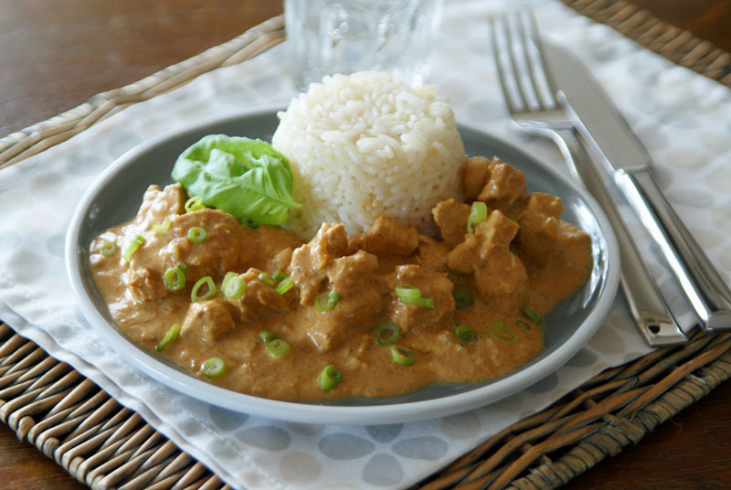 Indisches Butter-Huhn (Indian Butter Chicken)